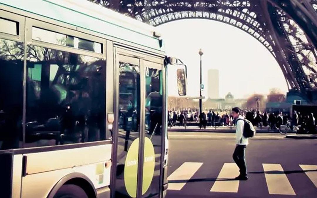 Paris – électrification des bus